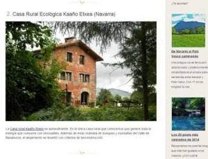 casa rural ecológica Kaaño etxea-post renovables escapada rural- ene 15