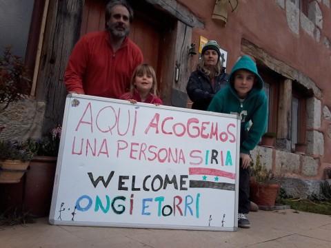 Acoger refugiados en Navarra
