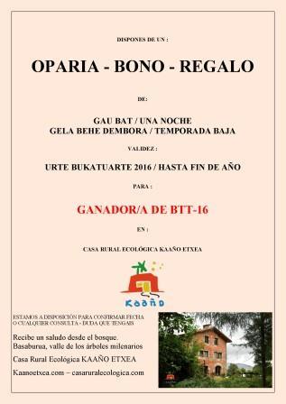 casa rural ecológica Kaaño etxea. btt-16 en Basaburua, Navarra