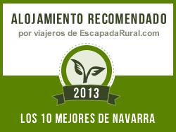 entre los 10 mejores de Navarra Escapada Rural