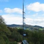 torre energías renovables casa rural ecológica Kaaño etxea