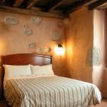 habitación Lurra,cuádruple de casa rural ecológica Kaaño etxea.