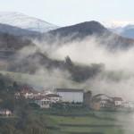 casa rural ecológica Kaanoetxea-galeria-6 - vista Igoa y Sayoa nevado