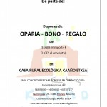 BONO-REGALO-OPARIA ecológico y sostenible