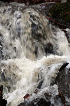 hotel ecológico Kaaño etxea - cascada