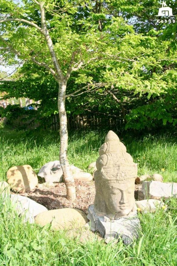 casa rural ecológica Kaaño etxea - buda del roble de la paz con c