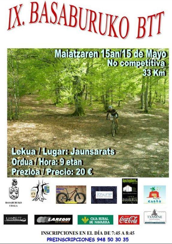 casa rural ecológica Kaanoetxea. btt-16 en Basaburua, Navarra