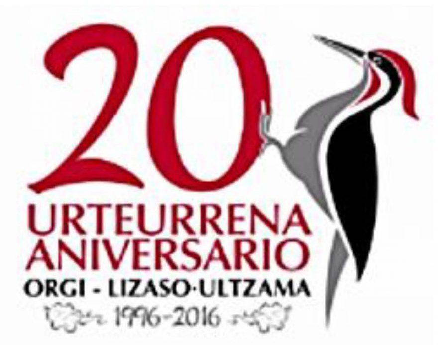 logo 20 aniversario Bosque de Orgi