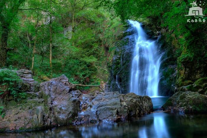 casa rural ecológica Kaaño etxea - Baztan - Gorostapolo - cascada Xorroxin