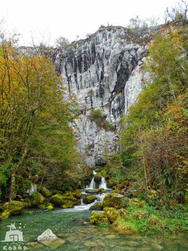nacedero rio Larraun Iribas