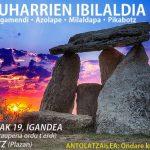 Ruta dólmenes «Jentilharribide» en Oderitz
