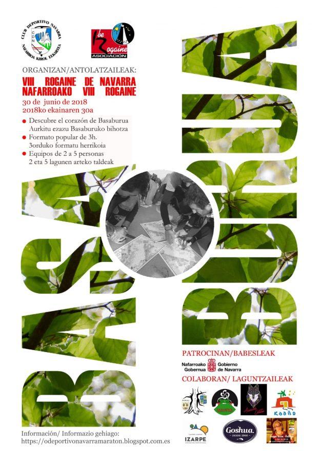 Rogaine Navarra 2018 en Aizarotz - Basaburura