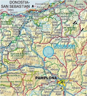 Rogain Basaburua - mapa Navarra
