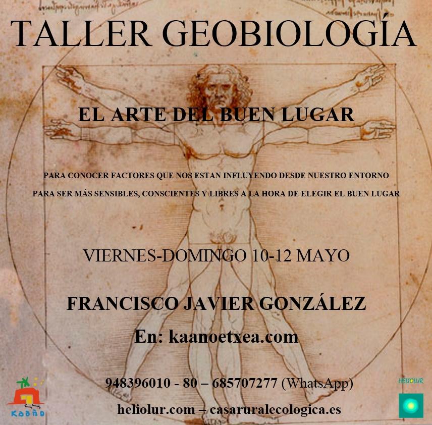 taller geobiología en Kaaño
